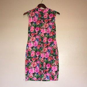 Floral Body Dress